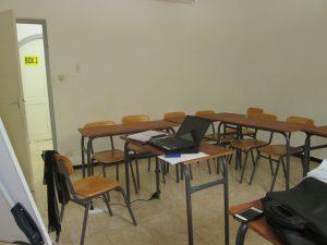Salle de cours de langue à Blida