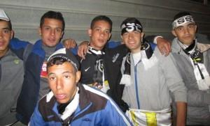 Jeunes supporters de l'ESS à la fin du match. Crédit photo : Mekfouldji