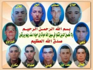 Jeunes soldats tombés en martyrs