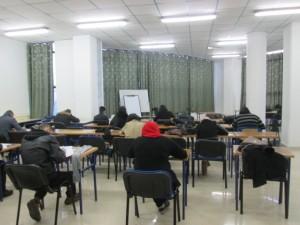 Beaucoup d'examens au mois de juin, en pleine chaleur