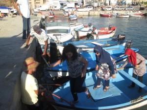 Tourisme local sur barques