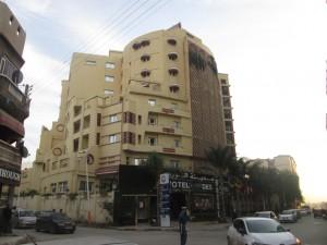 Hôtel Ville des Roses sis à Blida, lieu de l'exposition