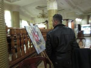 Public présent durant l'exposition