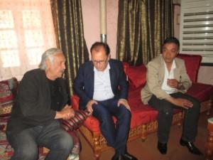 Avec Khodja et Hamza Benarbia