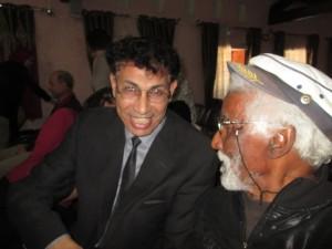 Le nouveau directeur de la culture de Blida, aux côtés de Bahas