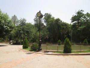 Jardin Lumumba -Bizot- à Blida