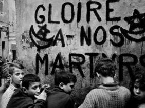 Les murs algériens exprimaient la volonté de tout un peuple