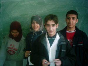 Jeunes élèves de lycée