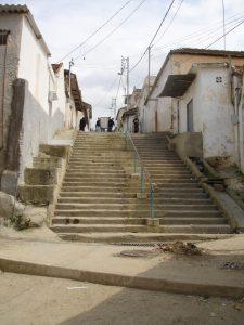 Les escaliers, droudj, de la Casbah de Blida