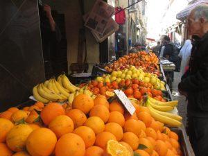 Etal de marché à Blida