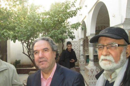 Article : Amin Zaoui dans un lycée