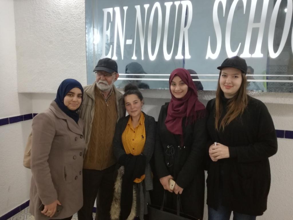Promotions successives de l'école En-Nour