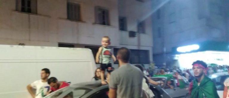 Article : Joie et allégresse en Algérie